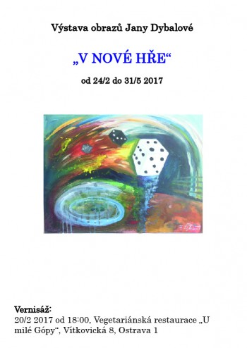 "Výstava ""V nové hře""/Exhibition ""In new game"""