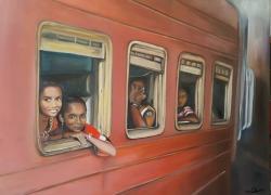 Momentka ze srílanského…