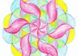 Mandala jarní