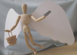 Anděl - model