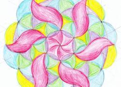 Jarní mandala