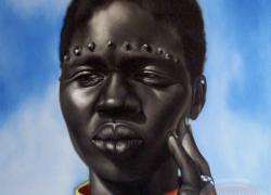 Súdánská dívka