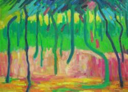 Barevný les