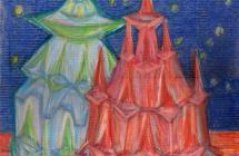 Věže muž a žena