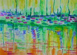 Odrazy rybníka