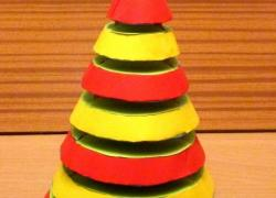Věžák strom - model