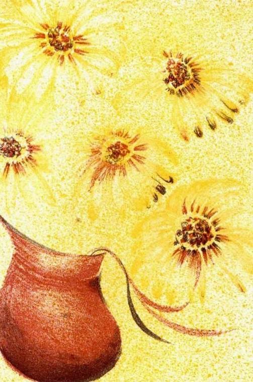 Květiny ve džbánu