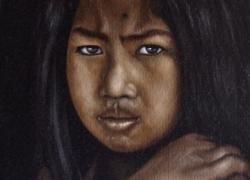 Nepálská dívka
