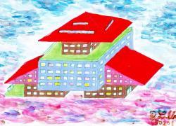 Levitující dům