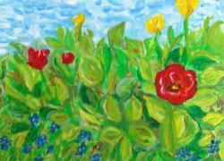 obr Jarní květy (c)L.Ur…