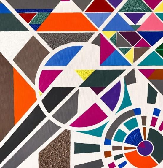 Barevná geometrie
